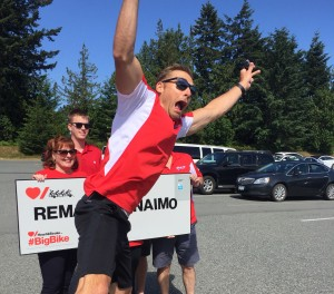 RE/MAX Heart and Stroke Big Bike Nanaimo