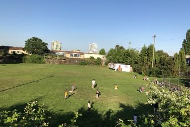 Nanaimo British Columbia Softball at Comox Gyro Park