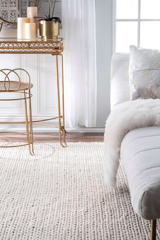 Cable Knit Rugs Interior Design Trends For Fall
