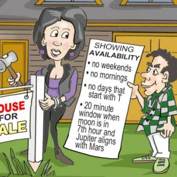 Showing your home to buyers