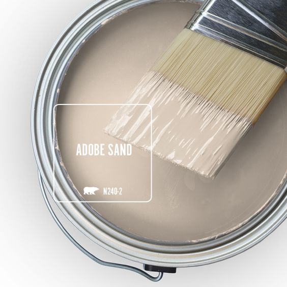 Adobe Sand Interior Paint Color