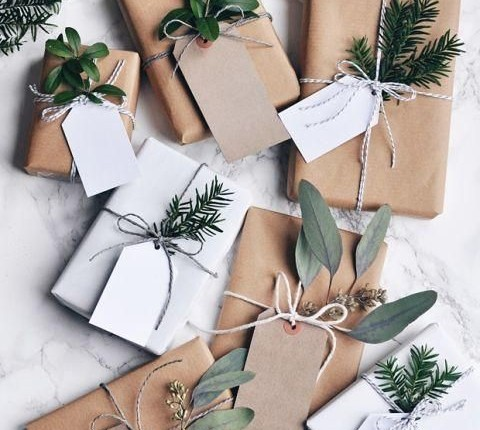 Dress Up Your Brown Paper Wrapping